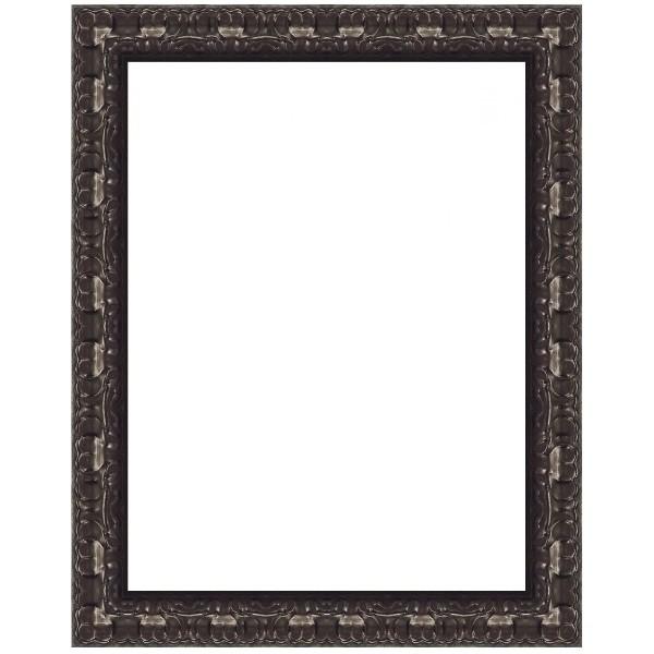 Encadrement ancien beau miroir ancien encadrement bois et for Miroir encadrement noir