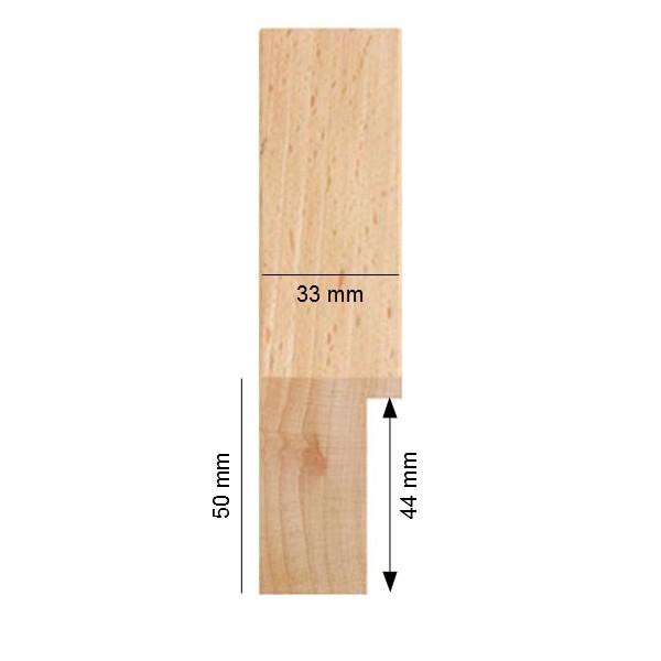 cadre bois brut h u00eatre sur mesure cadre naturelà peindre soi m u00eame  # Cadre En Bois Sur Mesure