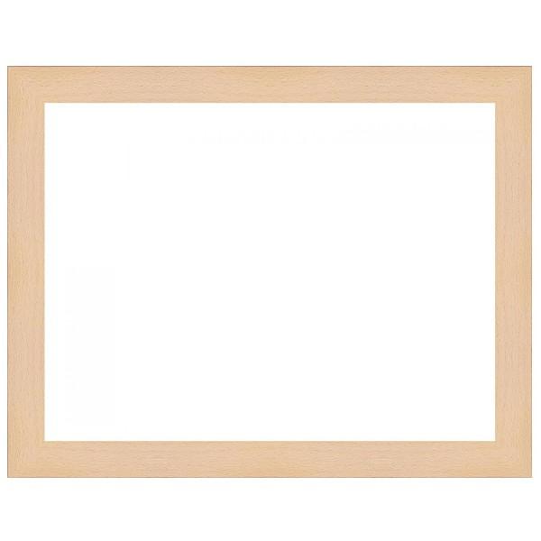 cadre bois brut h tre sur mesure cadre naturel peindre soi m me. Black Bedroom Furniture Sets. Home Design Ideas