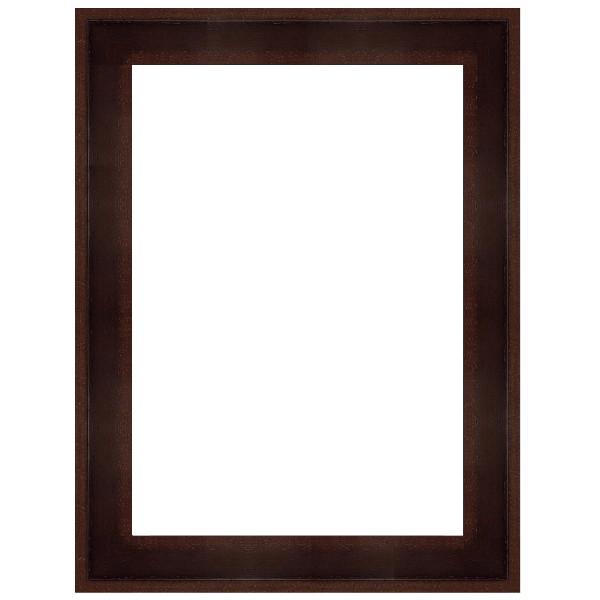 cadre petite caisse am ricaine marron cadre sur mesure vos mesures. Black Bedroom Furniture Sets. Home Design Ideas