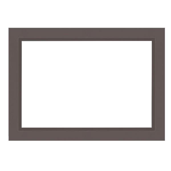 Cadre MATISS gris mat