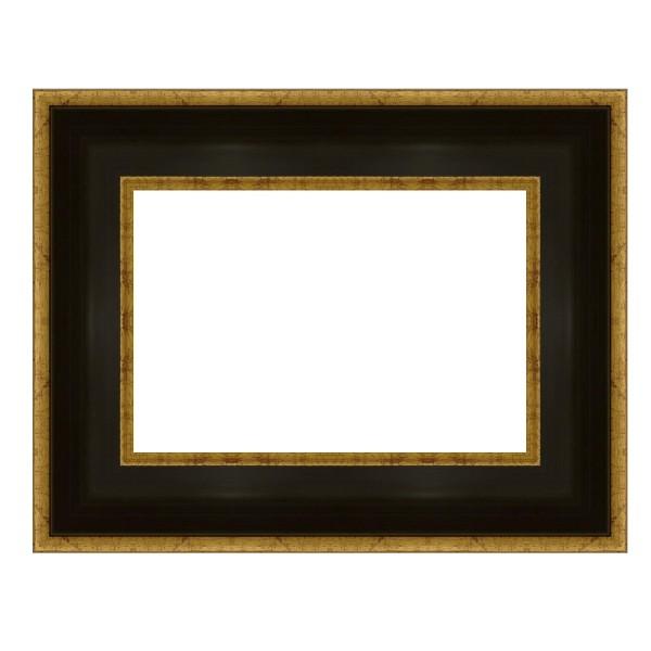 Cadre LEGEND noir bords extérieurs dorés