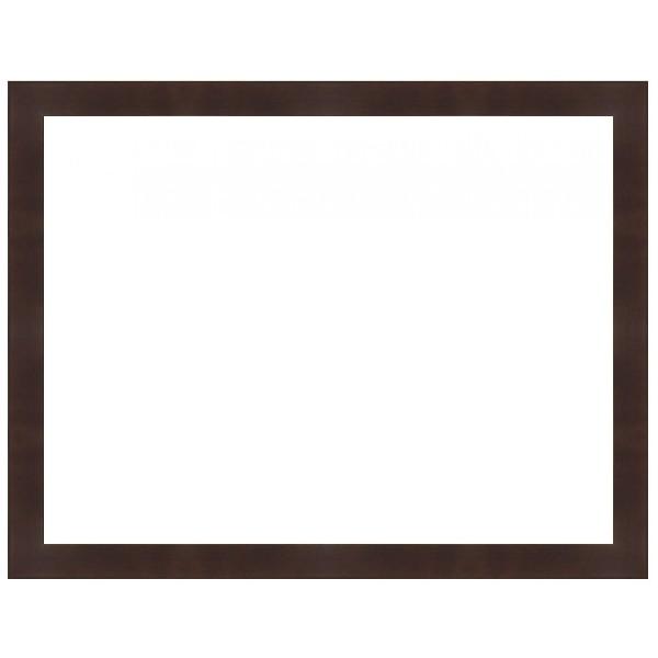 Cadre Vide cadre vide couleur marron wengé pas cher. cadre sur mesure. cadre déco.