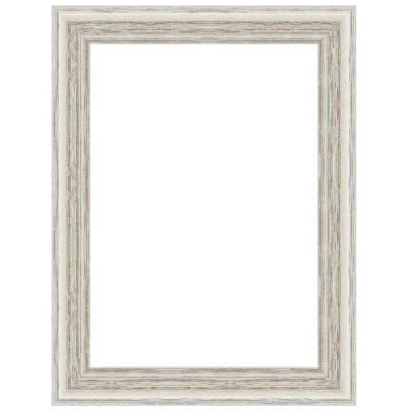 cadre caisse am ricaine blanc sur mesure bas prix pour. Black Bedroom Furniture Sets. Home Design Ideas