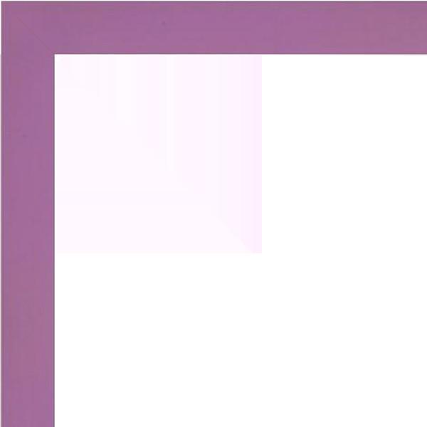 Cadre HAUT PLAT violet