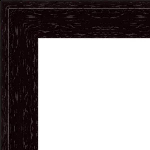 Cadre Caisse-Américaine noir mat