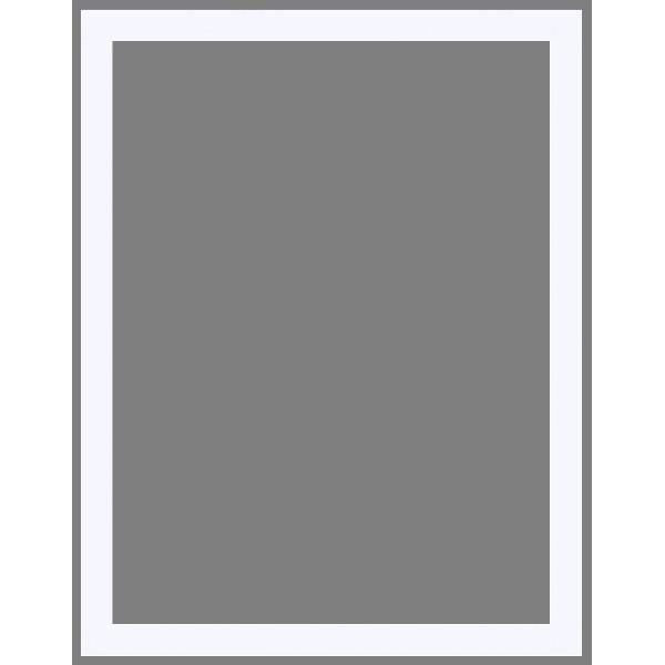 Cadre Plat haute-feuillure Pareti blanc