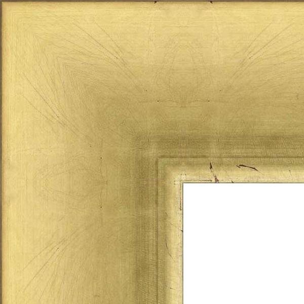 Cadre Navi 92 Dorure à la feuille de cuivre dorée