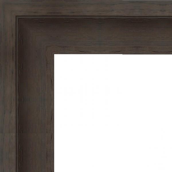 Cadre Caisse-Américaine marron wengé