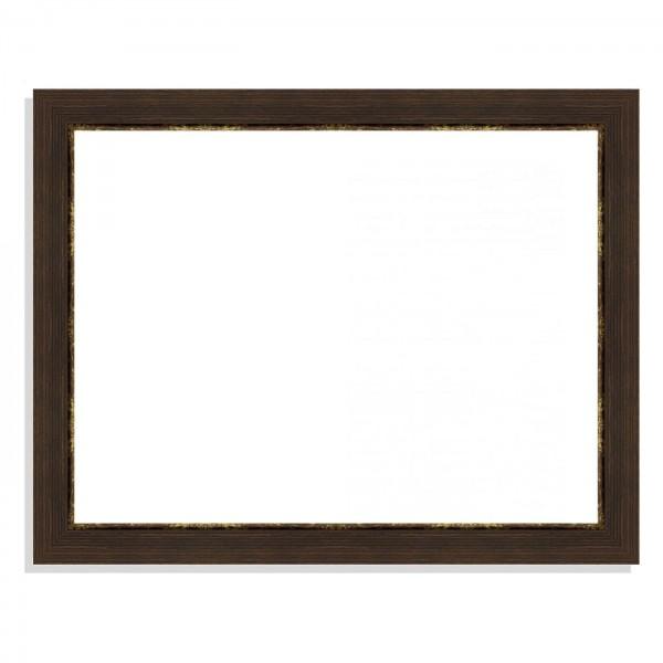 cadre marron dor marie louise cadre vide sur mesure. Black Bedroom Furniture Sets. Home Design Ideas