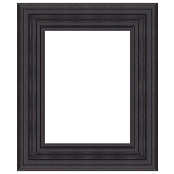 cadre hollandais noir mat cadre encadrement sur mesure bas prix. Black Bedroom Furniture Sets. Home Design Ideas