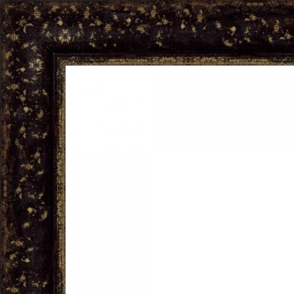 Cadre NATUREO noir patine dorée
