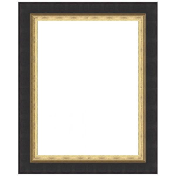 cadre noir et dor sur mesure cadre vide tableau toile bas prix. Black Bedroom Furniture Sets. Home Design Ideas