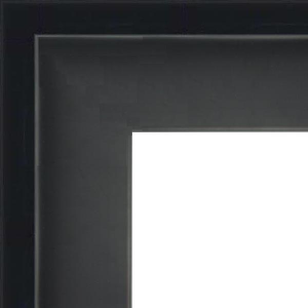 Cadre Caisse-Américaine noir