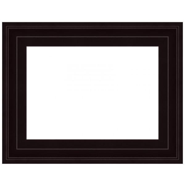 Cadre Caisse-Américaine escalier noir mat
