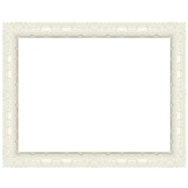Cadre Balia M blanc laqué