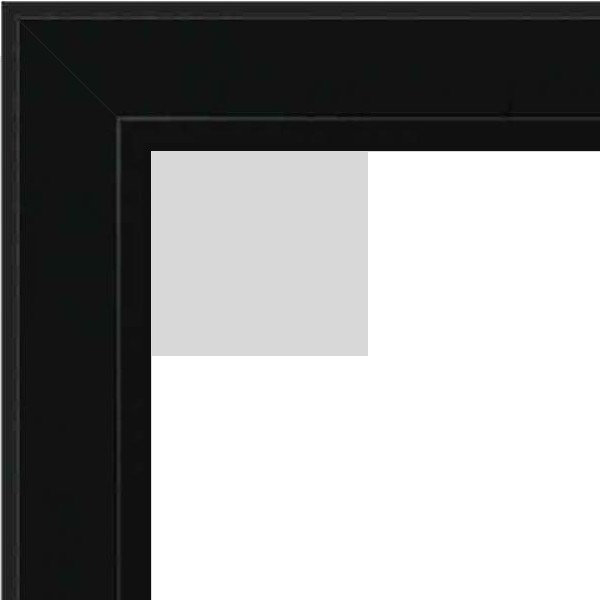 Cadre Pele Mele noir