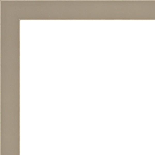 Cadre Plat haute-feuillure Pareti gris