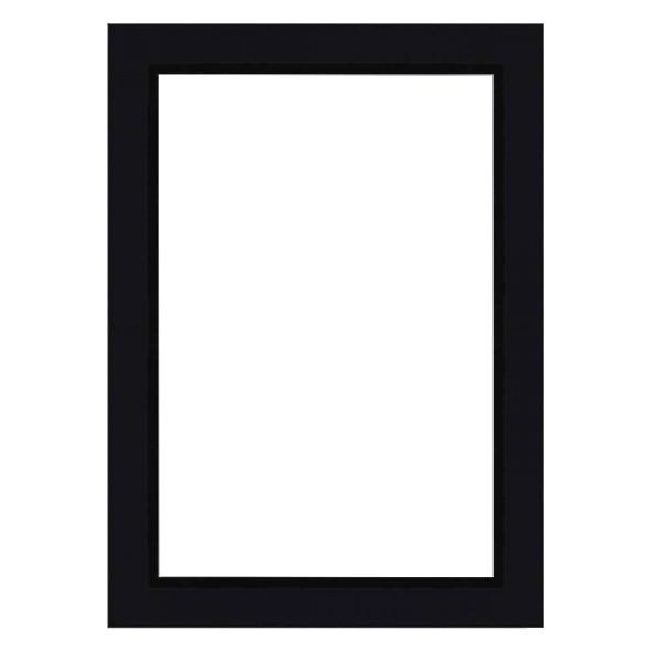 Cadre MATISS noir mat