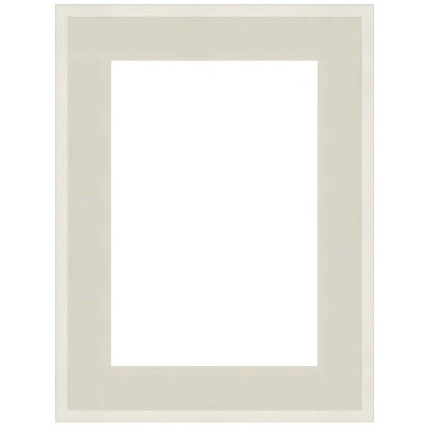Cadre Caisse-Américaine blanc