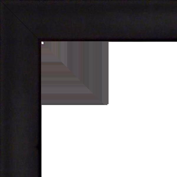 Cadre HAUT PLAT NOIR noir