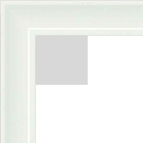 Cadre Pele Mele blanc