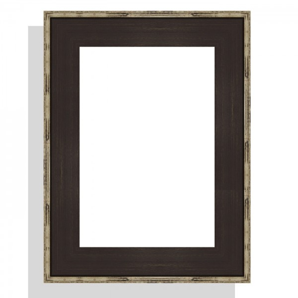 cadre caisse am ricaine sur mesure tendance noir c rus patin argent. Black Bedroom Furniture Sets. Home Design Ideas
