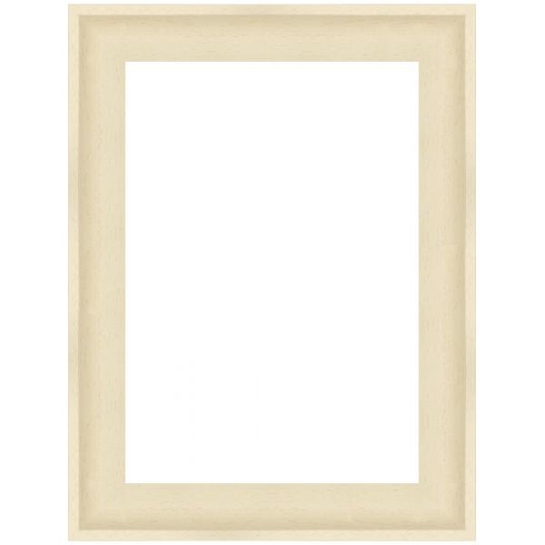 Cadre Caisse-Américaine blanc mat