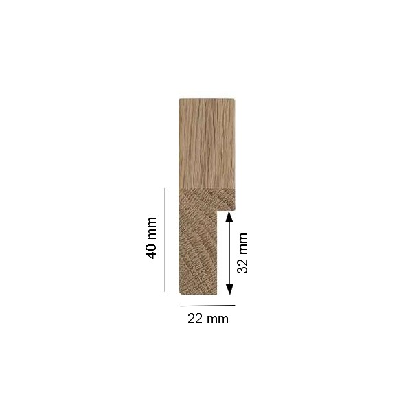 cadre bois brut naturel ch ne peindre soi m me cadre sur mesure. Black Bedroom Furniture Sets. Home Design Ideas