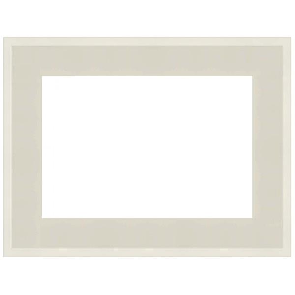 cadre caisse am ricaine blanc mat sur mesure bas prix pour peinture. Black Bedroom Furniture Sets. Home Design Ideas