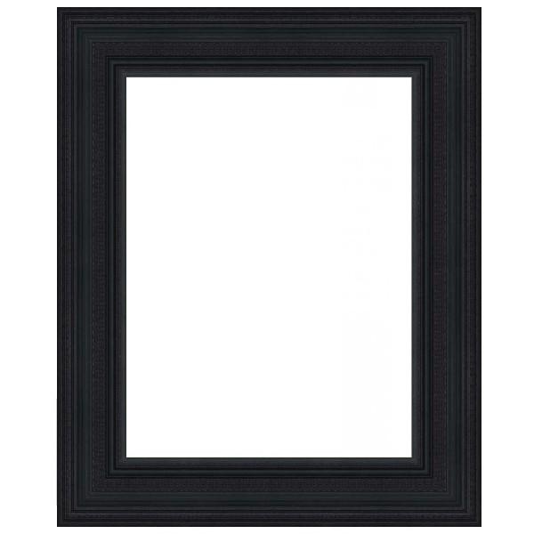 Cadre hollandais noir mat cadre encadrement sur mesure for 27 x 41 cadre ikea