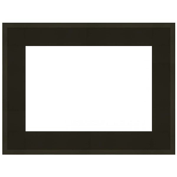 cadre caisse am ricaine noir mat sur mesure bas prix pour peinture. Black Bedroom Furniture Sets. Home Design Ideas