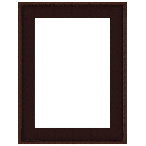 cadre caisse am ricaine marron weng sur mesure bas prix pour peinture. Black Bedroom Furniture Sets. Home Design Ideas