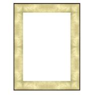 Cadre Art Pinceau doré