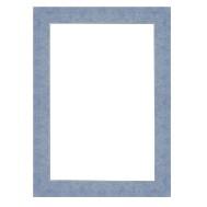Cadre Plat 30 bleu pâle